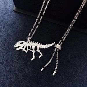 Apm Monaco Dinosaur Bone Necklace